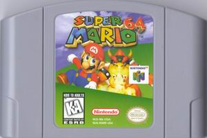Super Mario 64 (USA) Cart Scan